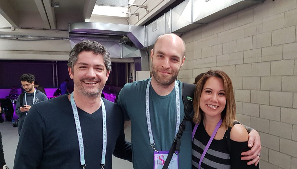 Ash and Monica Thorp finally get to meet Jason Bergeron.