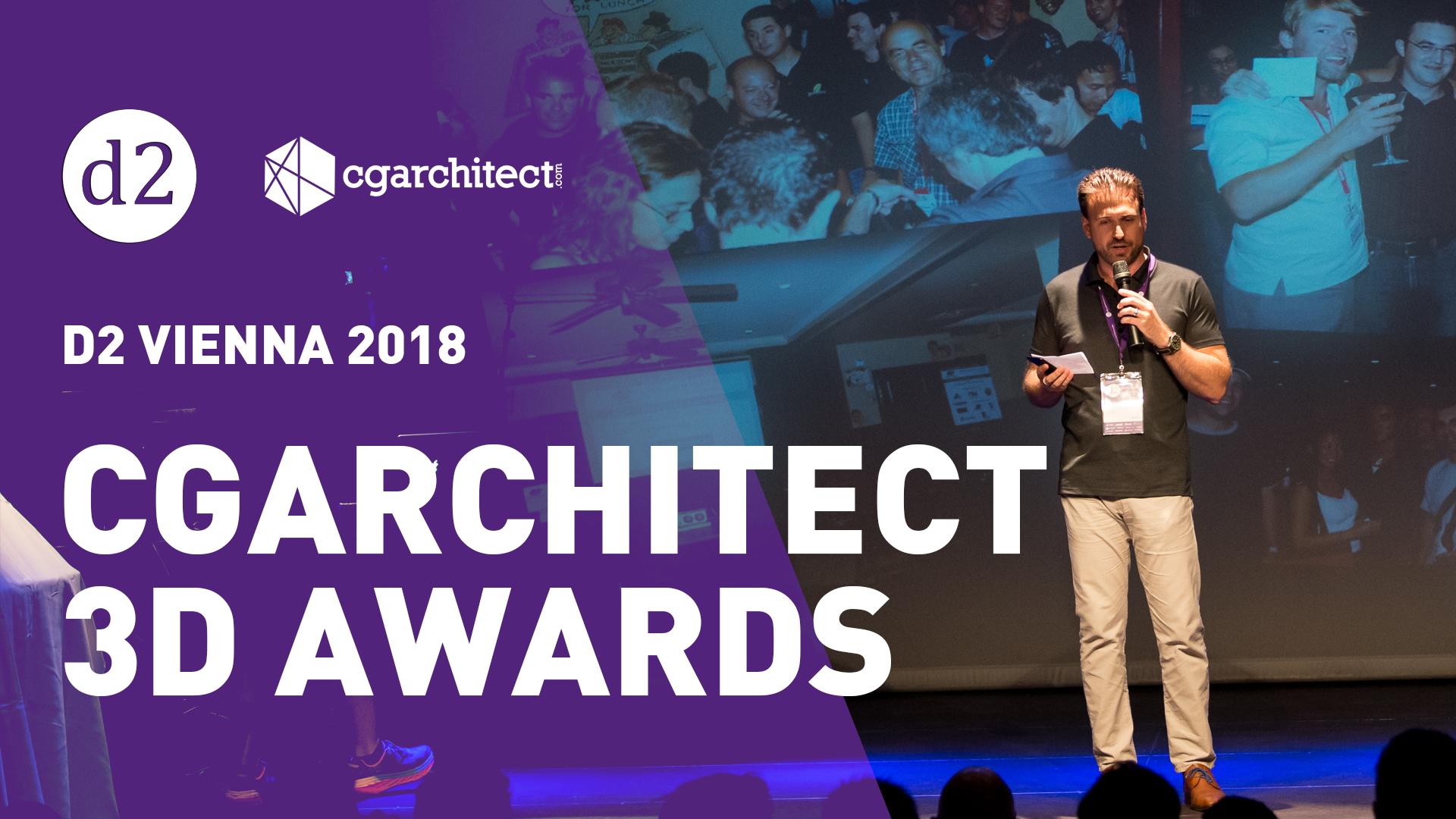 D2 Vienna 2018: Jeff Mottle Presents the CGArchitect 3D Awards