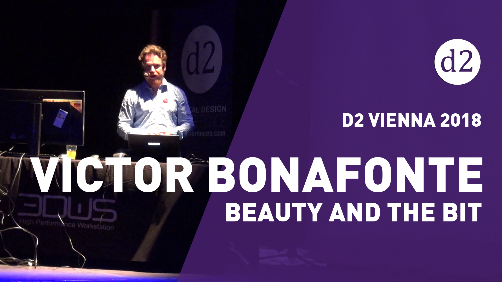 D2 Vienna 2018: Victor Bonafonte from Beauty and the Bit [Landmark Premiere]