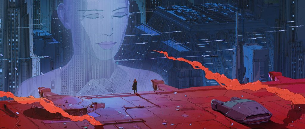 Blade Runner poster crop in collaboration with Maciej Kuciara.